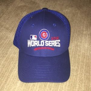 Cubs World Series hat